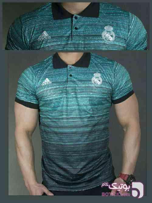 پلوشرت هواداری رئال مادرید آبی تی شرت مردانه