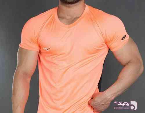 تیشرت نایک ارجینال نارنجی تی شرت مردانه