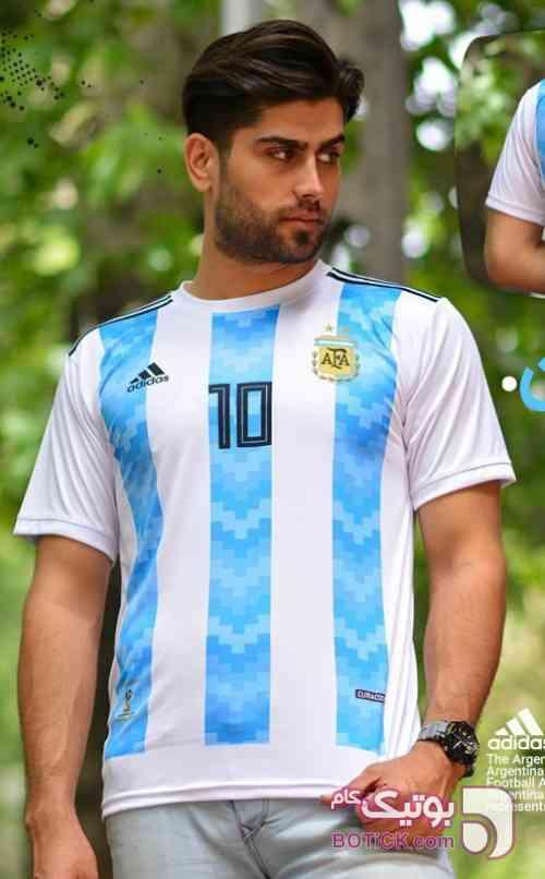 60% آف برای جام جهانی فیروزه ای تی شرت مردانه