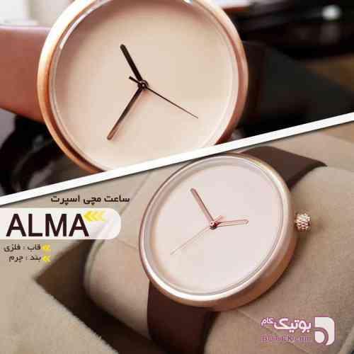 ساعت مچی اسپرت مدل ALMA مشکی ساعت