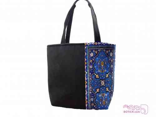 کیف دوطرفه آبی كيف زنانه