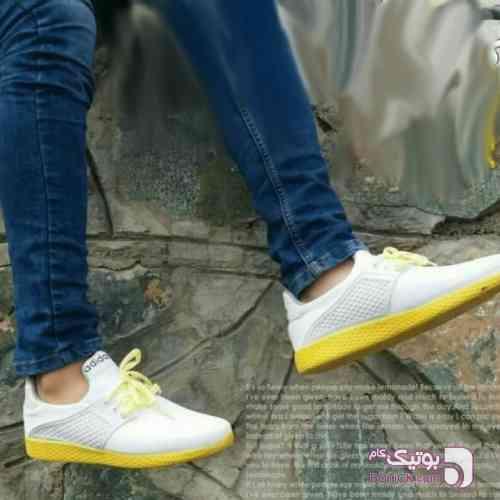 کفش مردانه مدل Lemon سفید كفش مردانه