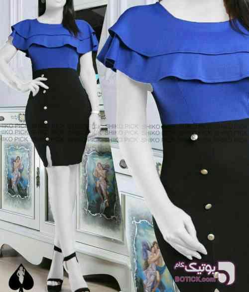 مدل شرمین آبی لباس  مجلسی