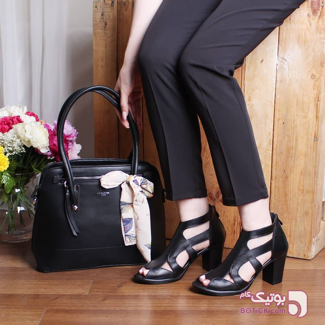 کفش زنانه مشکی كيف زنانه