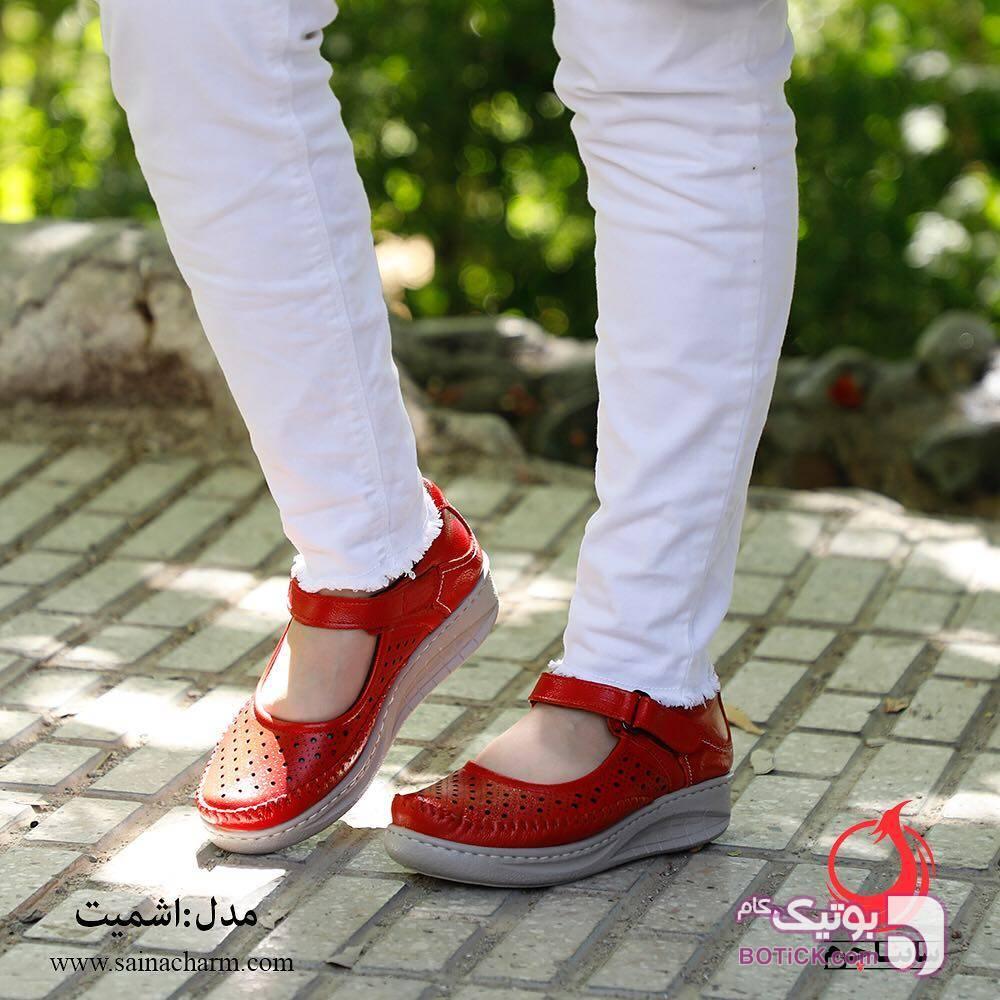 کفش زنانه قرمز كفش زنانه