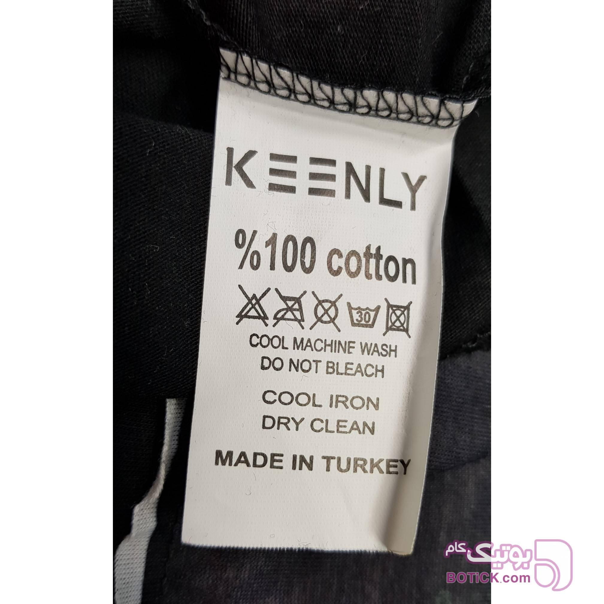 تیشرت اورجینال KEENLY ترکیه مشکی تی شرتو پولو شرت مردانه