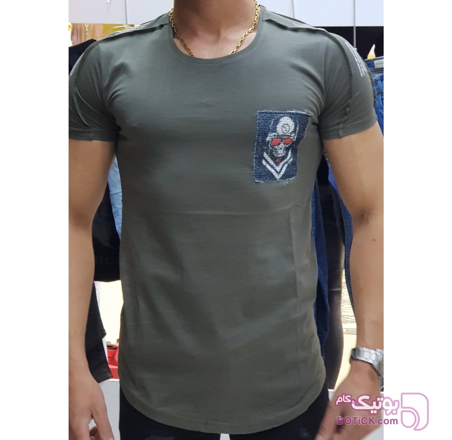 تیشرت اورجینال ERS ترکیه سبز تی شرتو پولو شرت مردانه