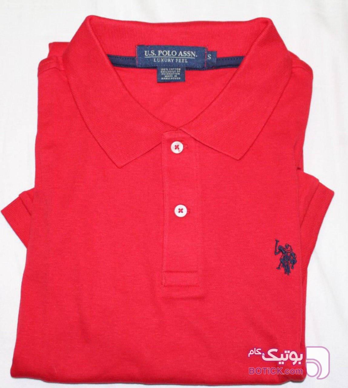 Polo قرمز تی شرتو پولو شرت مردانه