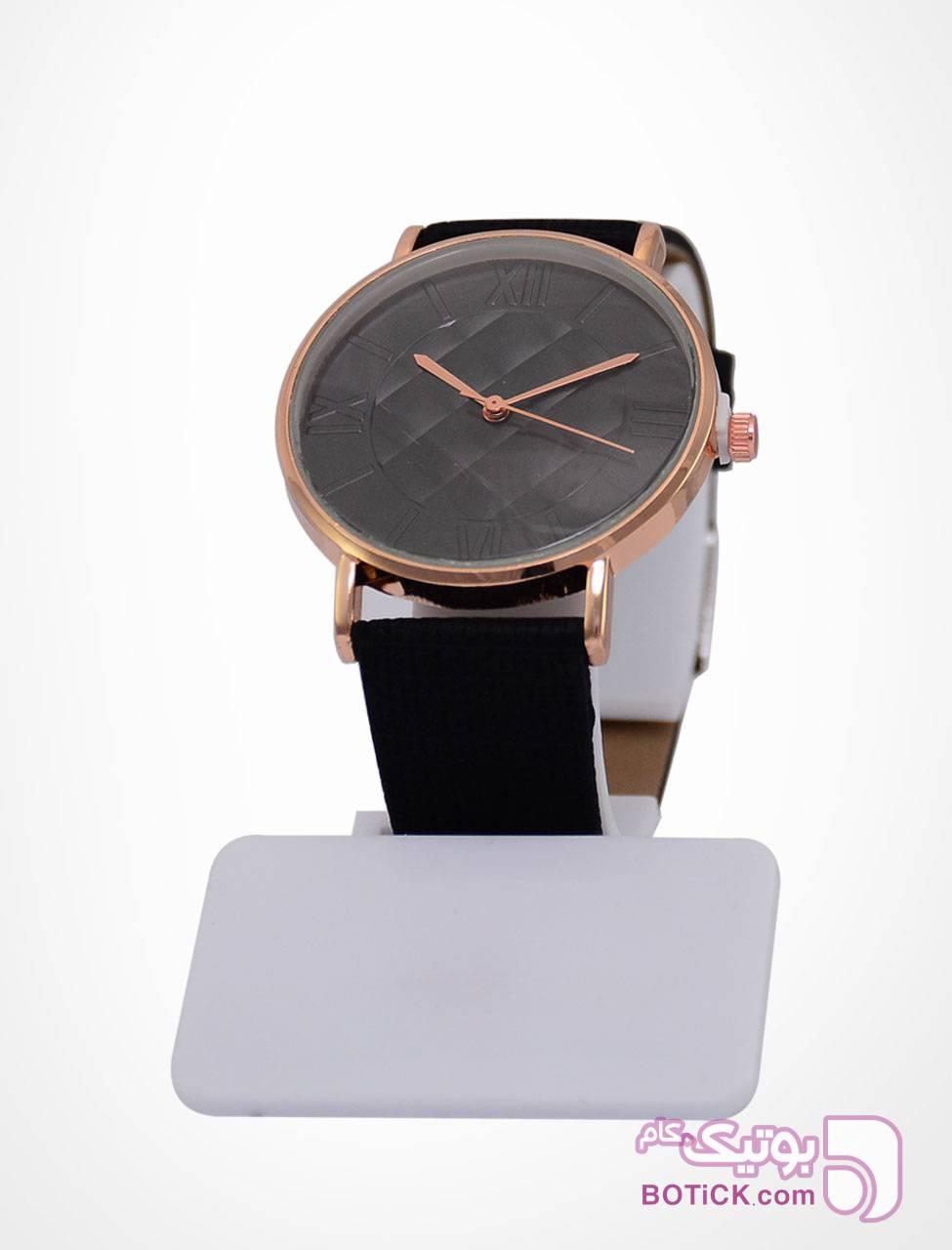 ساعت مچی زنانه مشکی ساعت