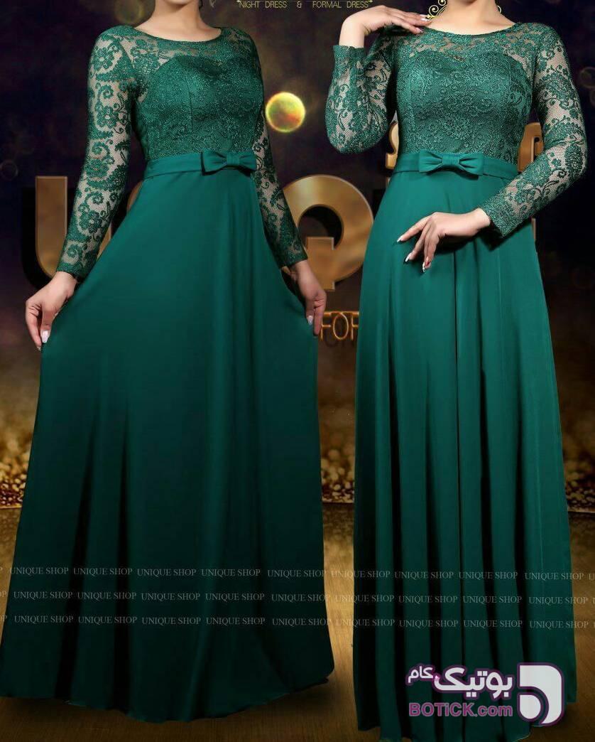 مدل کارین  سبز لباس  مجلسی
