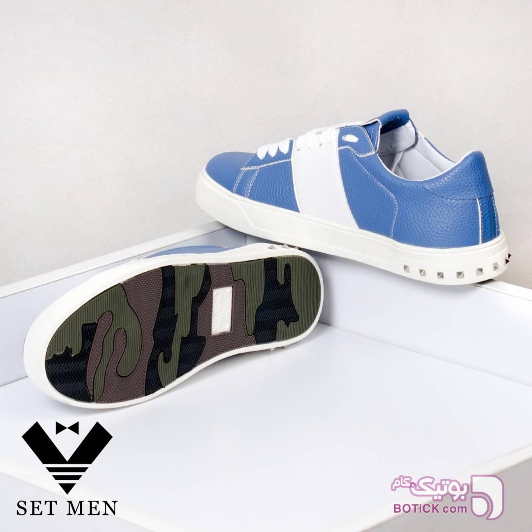 کفش آبی كفش مردانه