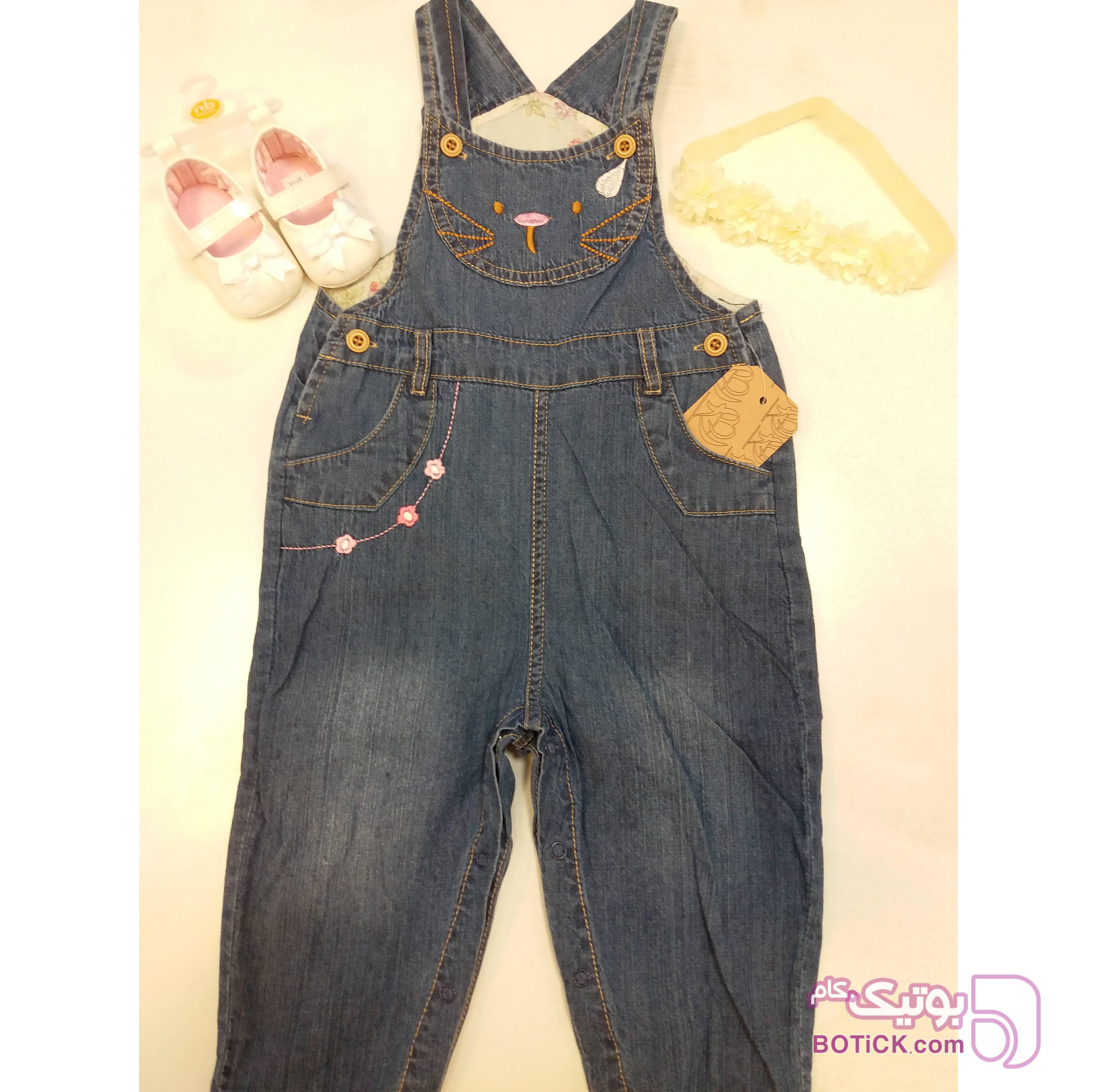 کد 10 آبی لباس کودک دخترانه