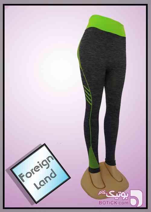 لگ ورزشی سبز ست ورزشی زنانه