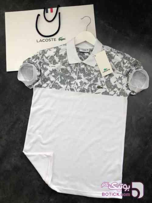 تیشرت LACOSTE مشکی تی شرت مردانه