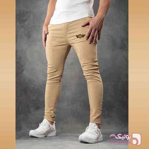 اسلش 2018 مدل  Olbiz(کرم رنگ) کرم شلوار مردانه