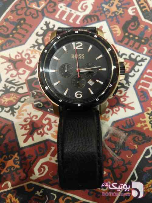 ساعت مچی بوس مردانه مشکی ساعت
