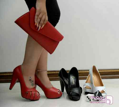 کفش اسپرت مشکی كفش زنانه
