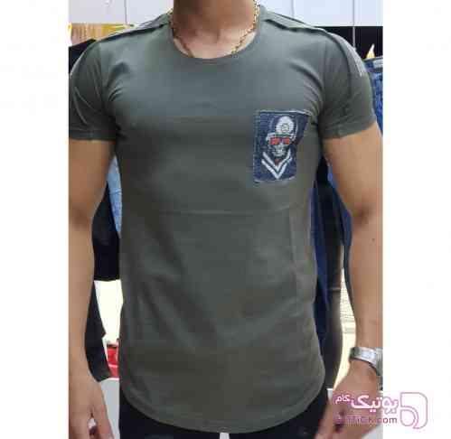 تیشرت اورجینال ERS ترکیه سبز تی شرت مردانه