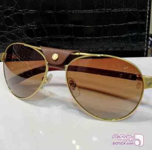Cartier قهوه ای عینک آفتابی