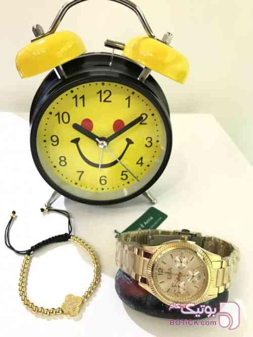ال دی ای زنانه زرد ساعت