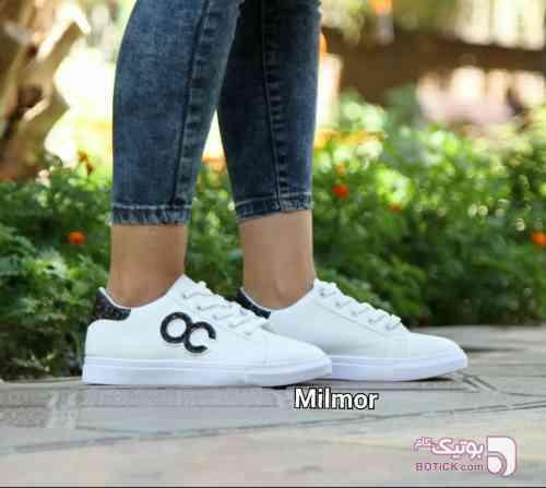 کفش اسپرت سفید كفش زنانه