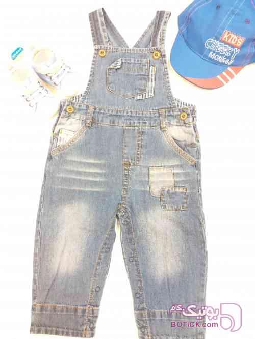 کد 6_2 آبی لباس کودک پسرانه