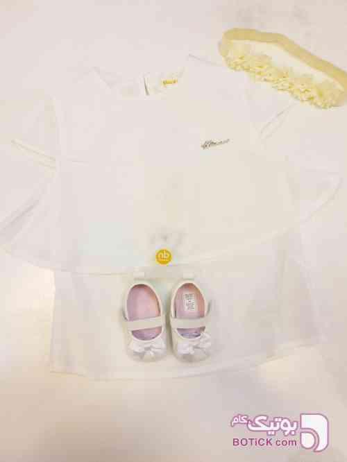کد 19 سفید لباس کودک دخترانه