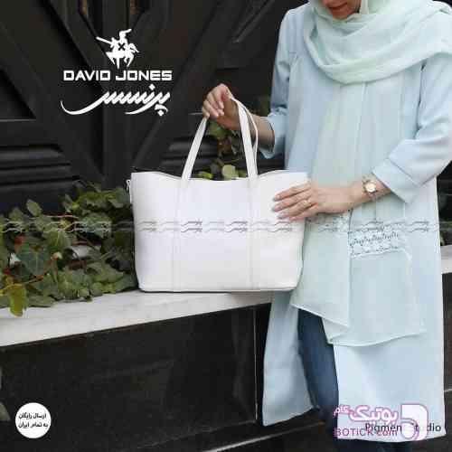 کیف زنانه سفید كيف زنانه