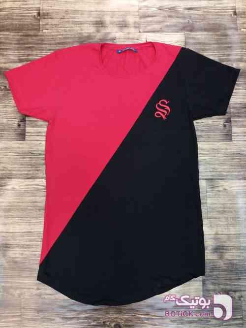 تیشرت یقه گرد آستین کوتاه مشکی تی شرت مردانه