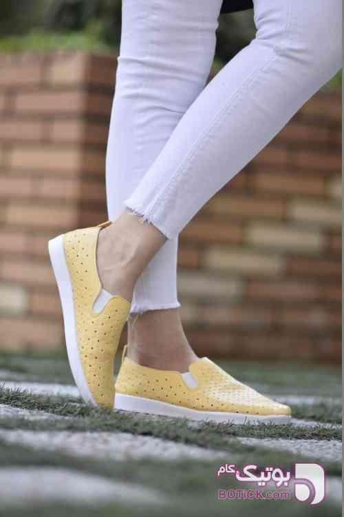 كفش دخترانه مدل ELSA زرد كفش زنانه