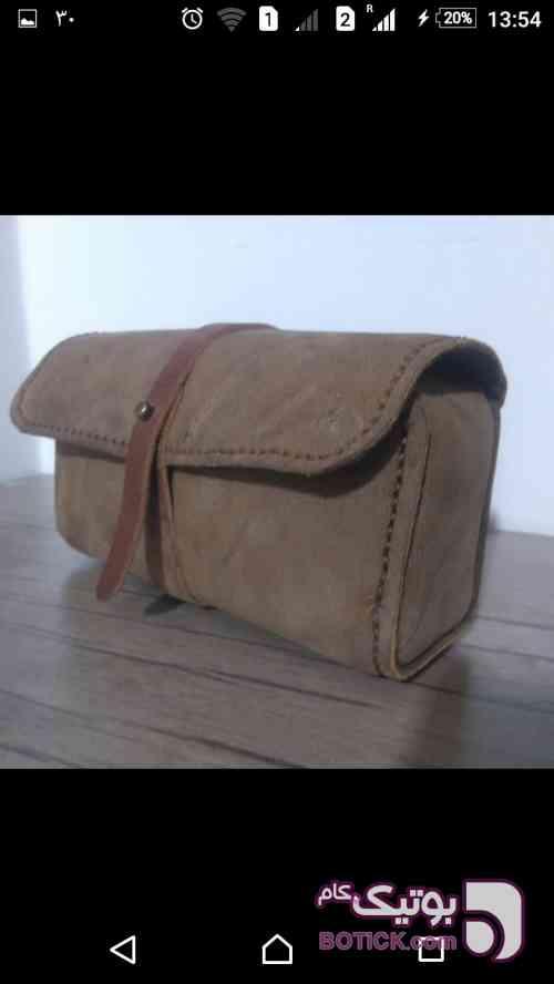 کیف لوازم آرایش کرم كيف زنانه