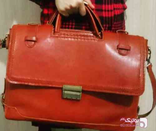 کیف مهندسی  نارنجی كيف مردانه