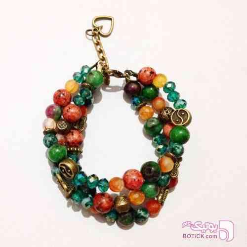 دستبند سنتي سبز دستبند و پابند