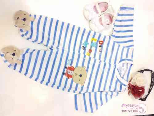 کد 37 آبی لباس کودک پسرانه