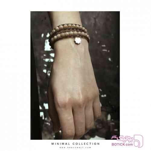دستبند قهوه ای دستبند و پابند