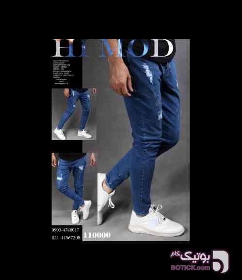 شلوار جین سورمه ای شلوار مردانه