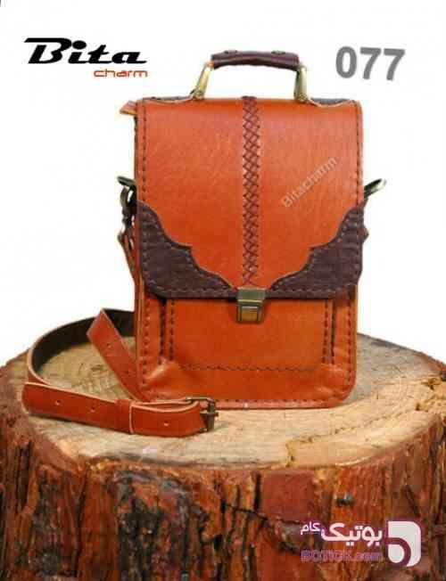 کیف دوشی نارنجی كيف مردانه