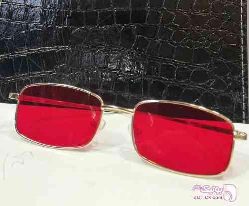 فشن فلزی مشکی عینک آفتابی