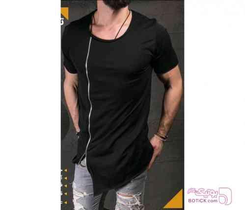 تيشرت مردانه مدل MAVI مشکی تی شرت مردانه