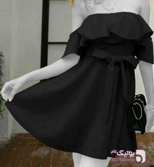 مجلسی عروسکی  مشکی لباس  مجلسی