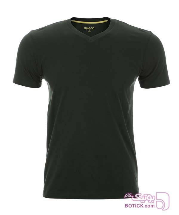 تیشرت مردانه نخی بالنو Baleno سفید تی شرت مردانه