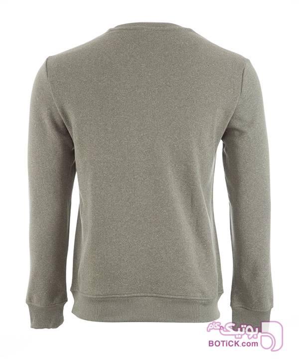 تیشرت آستین بلند مردانه جین وست طوسی تی شرتو پولو شرت مردانه