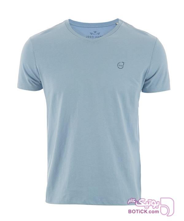 تیشرت مردانه جوتی جینز آبی تی شرت مردانه