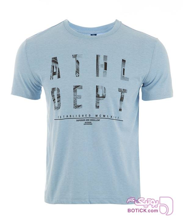 تیشرت مردانه جین وست طوسی تی شرت مردانه