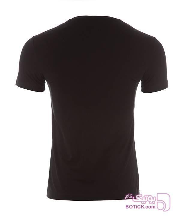 تیشرت مردانه جین وست مشکی تی شرتو پولو شرت مردانه