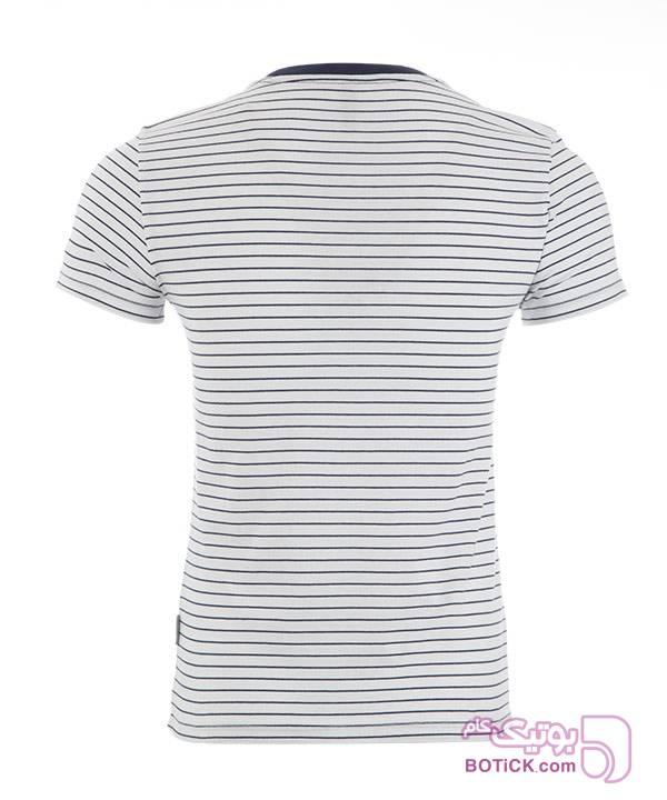 تیشرت مردانه جین وست سفید تی شرت مردانه