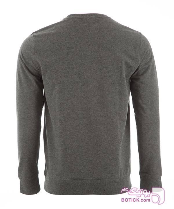 تیشرت آستین بلند مردانه جین وست مشکی تی شرت مردانه