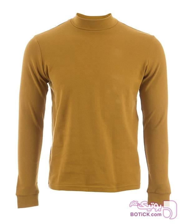 تیشرت آستین بلند مردانه جوتی جینز مشکی تی شرت مردانه