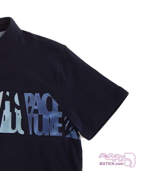 پولوشرت مردانه جین وست آبی تی شرت مردانه