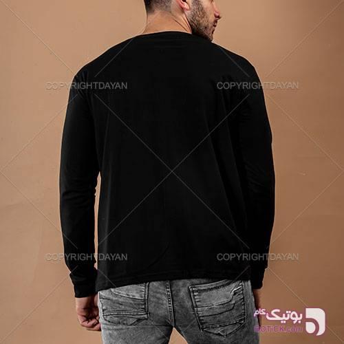 """تیشرت محرم طرح """" دوستدار حسین """" - قرمز مشکی تی شرت مردانه"""